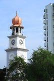 时钟回教样式塔 库存图片