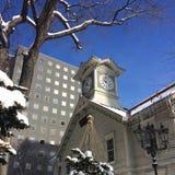 时钟在日本 库存照片