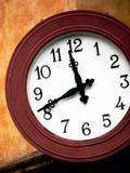 时钟在罗马 库存照片