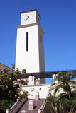时钟地亚哥圣状态塔大学 库存照片