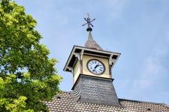 时钟塔楼 库存照片