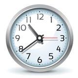 时钟墙壁 免版税图库摄影