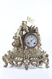 时钟壁炉骑士机械老 库存图片