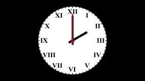 时钟支持周末 影视素材
