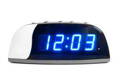 时钟数字式电子 免版税库存照片