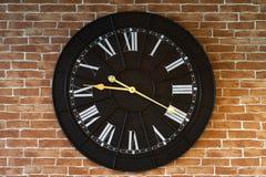 时钟数字老罗马 库存图片