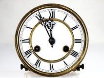 时钟数字老罗马 图库摄影