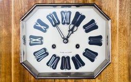时钟数字老罗马 库存照片