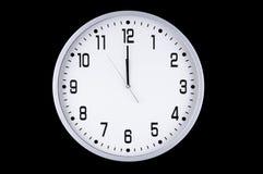 时钟新的空白年 免版税图库摄影