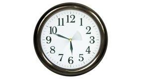 时钟时间流逝 库存例证