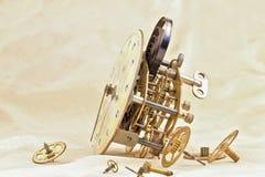 时钟机制。 免版税库存照片