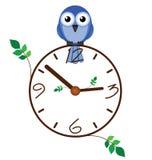 时钟枝杈 免版税库存图片