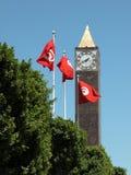 时钟标记塔 库存照片