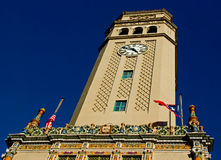 时钟样式塔托斯卡纳 库存照片