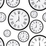 时钟样式 库存照片
