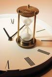 时钟概念滴漏生活晚上仍然计时 免版税库存照片