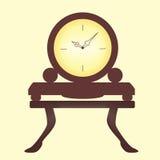 时钟现代样式 免版税库存照片