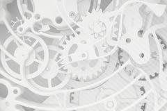 时钟的抽象背景 免版税库存照片