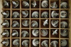 时钟的齿状的齿轮 库存图片
