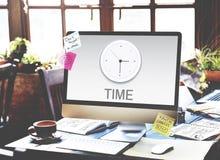 时钟管理概念 免版税库存照片