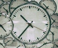 时钟背景摘要 免版税图库摄影