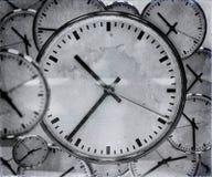 时钟背景摘要 库存图片