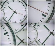 时钟背景摘要 免版税库存照片
