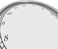 时钟背景时间概念空白拷贝空间您的消息 库存照片