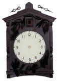 时钟葡萄酒墙壁 库存图片