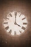 时钟葡萄酒 库存图片