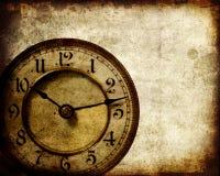时钟葡萄酒 库存例证