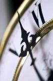 时钟葡萄酒 库存照片