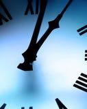 时钟表盘 免版税库存照片