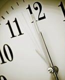 时钟表盘 免版税图库摄影