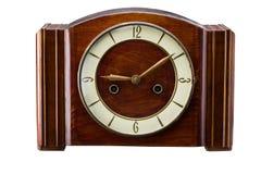 时钟被塑造的老 库存图片