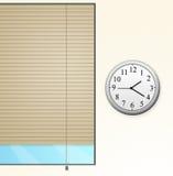 时钟视窗 免版税库存图片