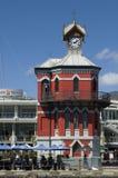 时钟议院塔在开普敦,南非 免版税库存图片