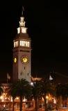 时钟轮渡弗朗西斯科・圣 库存照片