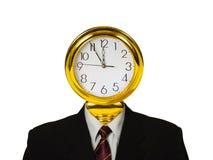 时钟题头 免版税图库摄影