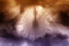 时钟魔术 库存图片