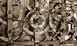 时钟齿轮 图库摄影