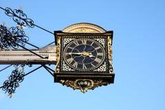 时钟guildford英国 免版税库存照片