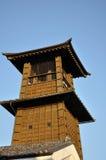 时钟kane kawagoe没有toki塔 库存图片