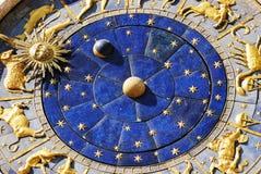 时钟marco圣 免版税库存照片