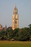 时钟mumbai rajabai塔 库存图片