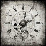 时钟steampunk 库存图片