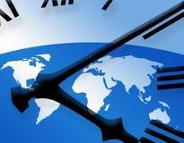时间世界 向量例证