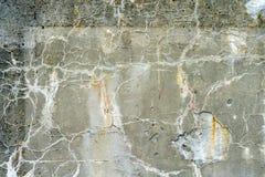 时间之前作为纹理毁坏的混凝土墙 库存图片