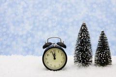 时间冬天 免版税库存图片