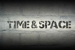 时间和空间gr 图库摄影
